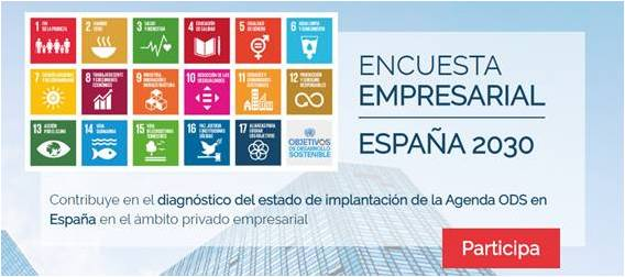 encuesta empresarial ods espana 2030